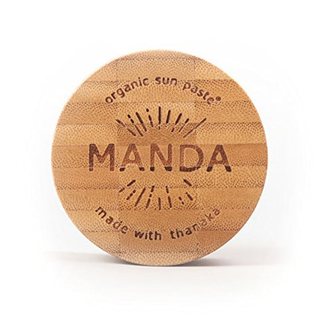 MANDA Organic Sun Paste - SPF 50 Sunscreen - 40g