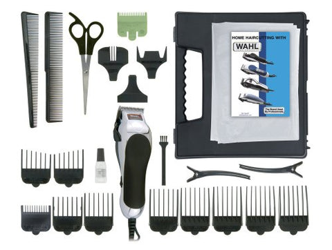 Wahl 79524-500 Chrome Pro 24-Piece Complete Haircut Kit