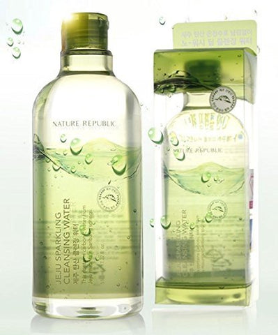 Nature Republic Jeju Sparkling Cleansing Water, 510ml