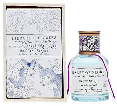 Library of Flowers  Eau De Parfum, Forget Me Not, 1.69 Fl Oz