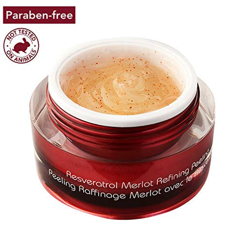 Vine Vera Resveratrol Merlot Peeling Gel   Paraben Free Luxury Face Scrub To Peel Your Way To Radian