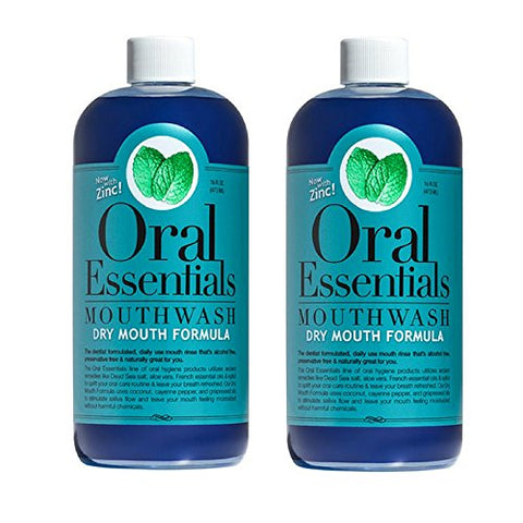 Lumineux Oral Essentials Moisturizing Dry Mouth Mouthwash   Certified Non Toxic | Fluoride Free Sls
