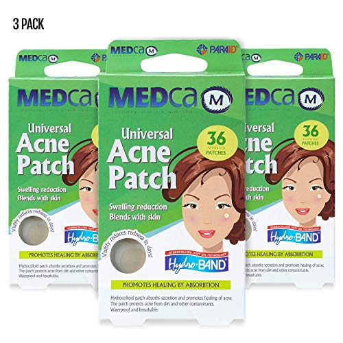Acne Care Pimple Patch Absorbing Cover - Hydrocolloid Bandages (108 Count) Two Universal Sizes, Acne Spot Treatment for Face & Skin Spot Patch That Conceals Acne, Reduces Pimples and Blackheads