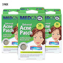 Image of Acne Care Pimple Patch Absorbing Cover - Hydrocolloid Bandages (108 Count) Two Universal Sizes, Acne Spot Treatment for Face & Skin Spot Patch That Conceals Acne, Reduces Pimples and Blackheads