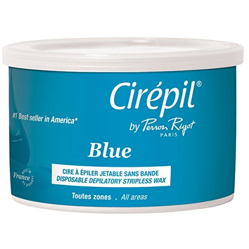 Cirepil The Original Blue Wax Beads By Perron Rigot   Tin, 400g/14.11 Oz.