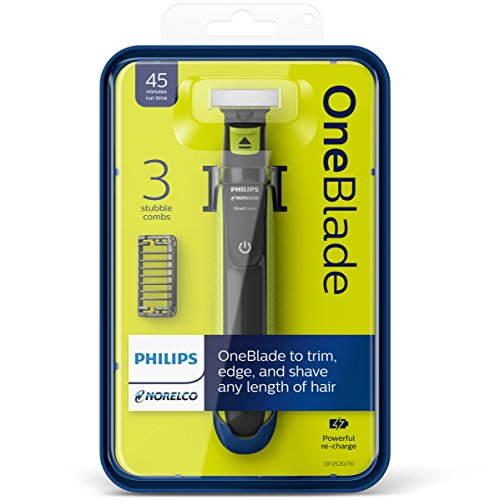 Philips Norelco One Blade Hybrid Electric Trimmer And Shaver, Ffp, Qp2520/90