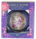 Image of Unicorn Bubble Bath Bomb For Girls With Surprise Kids Necklace Inside By Two Sisters Spa. Large 99%