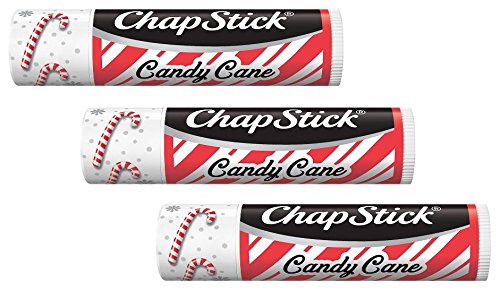 ChapStick Candy Cane Pack of 3 - NEW DESIGN