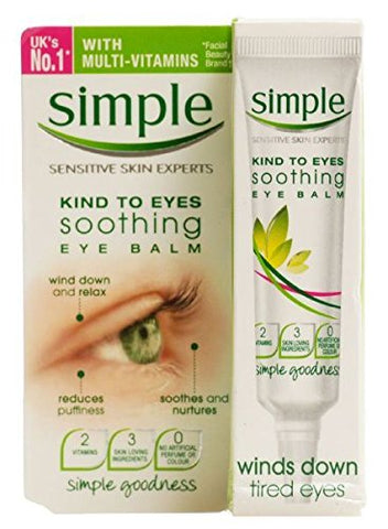 Simple Kind To Eyes Soothing Eye Balm 15ml Case of 6 by Simple