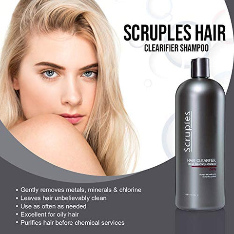 Scruples Hair Clearifier Deep Cleansing Shampoo   Perfect Clarifying Shampoo For Clearing Product Bu