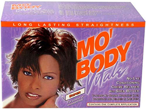 Vitale Mo Body No Lye Relaxer Kit Super