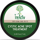 Image of Tree Activ Cystic Acne Spot Treatment, Extra Strength Fast Acting Formula For Clearing Severe Acne Fr