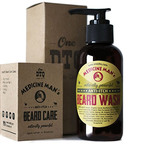 Medicine Man's Itchy Beard Wash 4,7 Fl Oz