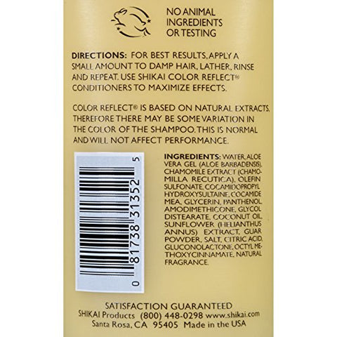 Shikai Color Reflect Gold Shampoo - 8 fl oz by ShiKai