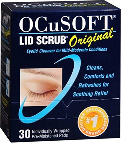 OCuSOFT Lid Scrub Original 30 Each (Pack of 4)