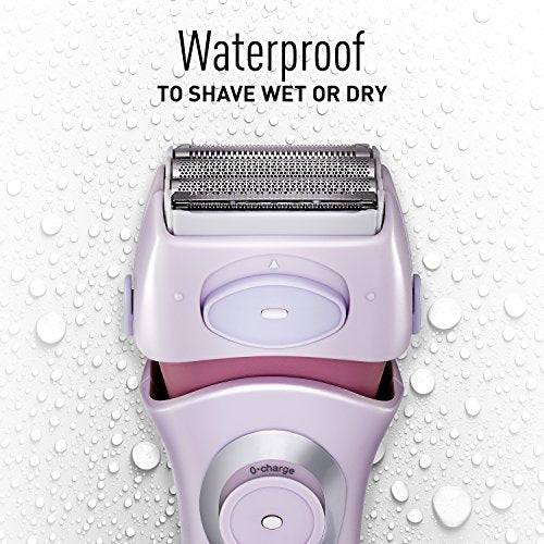 Panasonic Electric Shaver For Women, Cordless 4 Blade Razor, Close Curves,ã'â  Bikini Attachment, Po