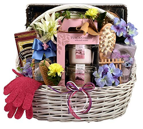 Luxurious Bath and Body Spa Gift Basket -Deluxe