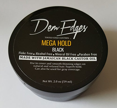 Dem Edges Tinted Edge Control (MEGA HOLD, BLACK)