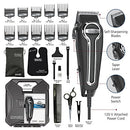 Image of Wahl Clipper Elite Pro High Performance Home Haircut & Grooming Kit For Men   Electric Hair Clipper