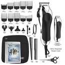 Image of Wahl Clipper Combo Pro, Complete Hair And Beard Clipping And Trimming Kit, Includes Quality Clipper