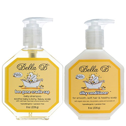 Bella B Cradle Cap Shampoo & Cradle Cap Scalp Treatment And Conditioner   Baby Shampoo And Condition