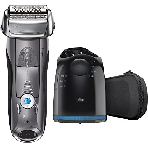 Braun Electric Razor For Men, Series 7 7865cc Electric Shaver With Precision Trimmer, Rechargeable,