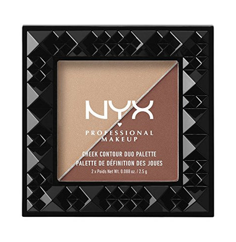 Nyx Cosmetics Cheek Contour Duo Palette Ginger & Pepper