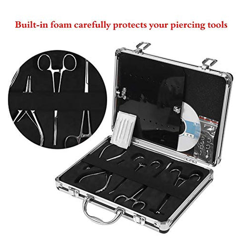 Professional Drilling, Tattoo Set, Body Piercing Kit For Navel Needle, Tattoo Gun