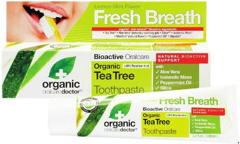 Organic Doctor Tea Tree Toothpaste-100 Tube