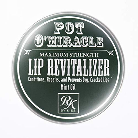 Kiss Pot O'Miracle Lip Revitalizer 0.33 Ounce (6 Pieces) (10ml)
