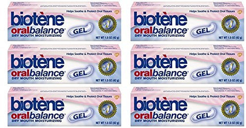 Biotene Oral Balance Dry Mouth Relief Long Lasting Salive Substitute Moisturizing Gel 1.5 Ounce by Biotene