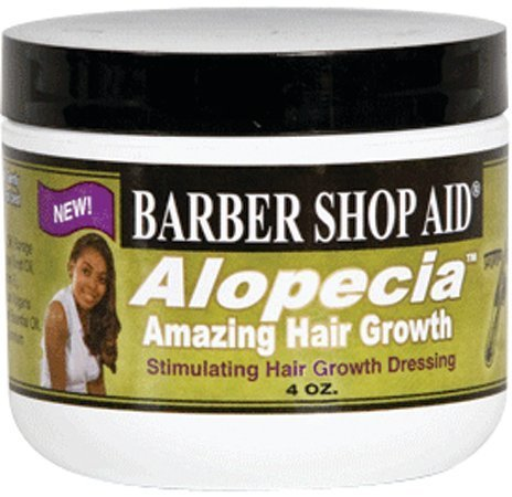 Barber Shop Aid Alopecia Hair Dressing 4 oz. (Pack of 2)