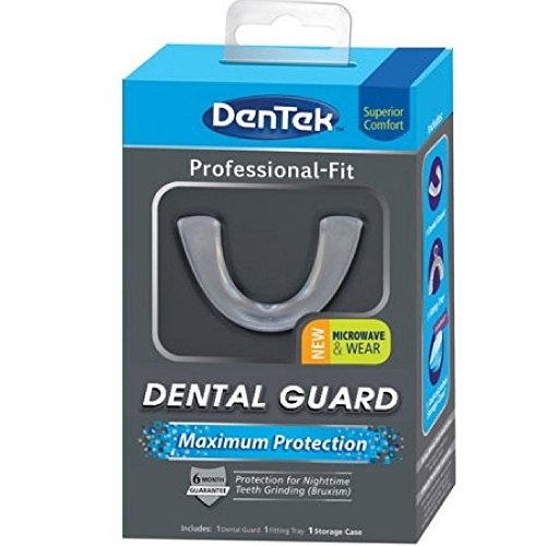 Den Tek Professional Fit Maximum Protection Dental Guard For Teeth Grinding