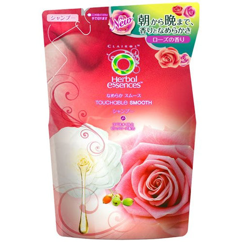 P&G Herbal Essences | Shampoo| NAMERAKA Smooth Shampoo Refill 340ml (Japan Import)