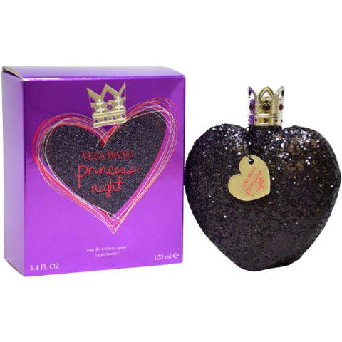 Vera Wang Princess Night Eau De Toilette Spray for Women, 3.4 Ounce