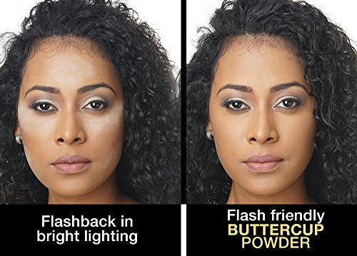 Sacha Buttercup Setting Powder. No Ashy Flashback. Blurs Fine Lines And Pores. Loose, Translucent Fa