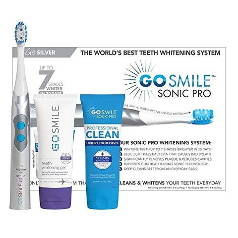 Go Smile Sonic Pro Whitening System - Silver (Silver)