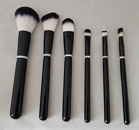 Beauticontrol 6-Pieces Cosmetic Brush Set + Brush Case NEW!