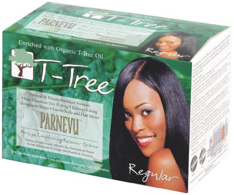 Parnevu Tea Tree No Lye Relaxer Super