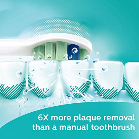 Philips Sonicare 2 Series plaque control rechargeable electric toothbrush, HX6211/30
