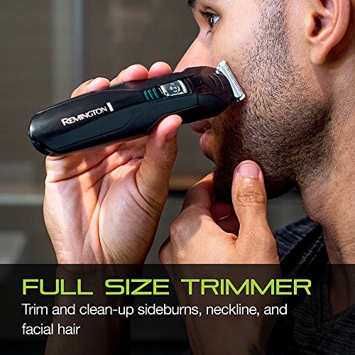 Remington Pg6025 All In 1 Lithium Powered Grooming Kit, Beard Trimmer (8 Pieces)