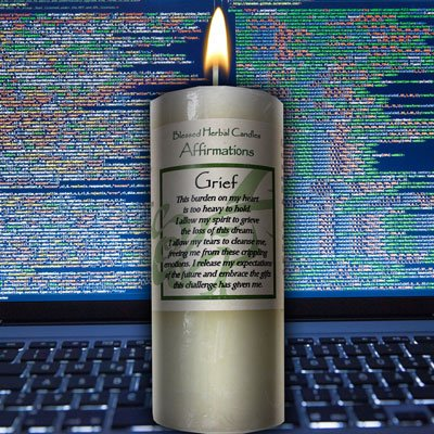 Affirmation - Grief Candle