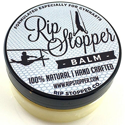 Rip Stopper Balm For Gymnastics 2oz | Athlete Hand Care Helps Repair Skin Rips, Tears And Prevent Bl