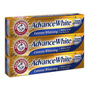 Image of Arm & Hammer Advance White Extreme Whitening With Stain Defense, Fresh Mint, 6 Oz, 3 Count (Packagin