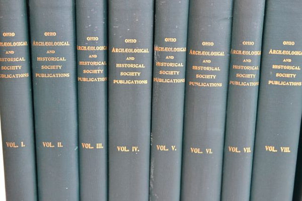 22 Vol. 1913 Ohio Archeological/Historical Society/Indian History