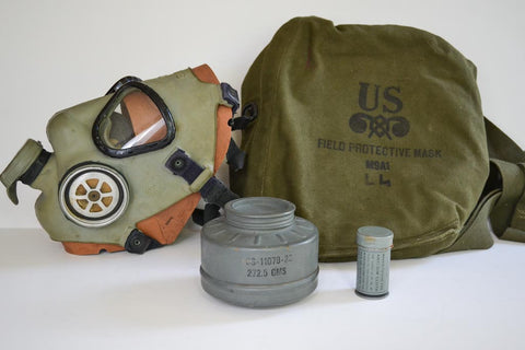 Military Field Gas Mask