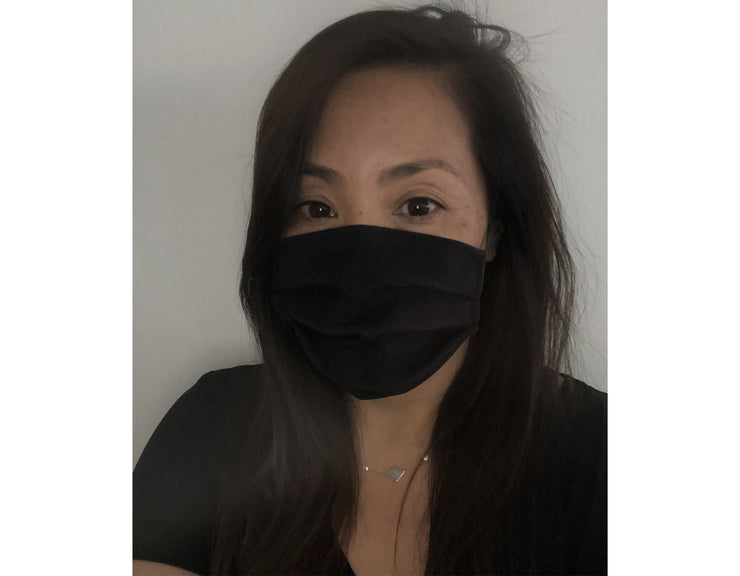 UNISEX FACE MASK<BR> BLACK