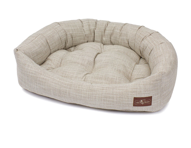 Newport Wood Textured Woven Napper Bed