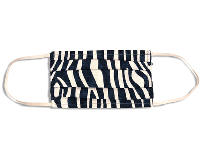 UNISEX FACE MASK<BR> WILD THINGS NAVY