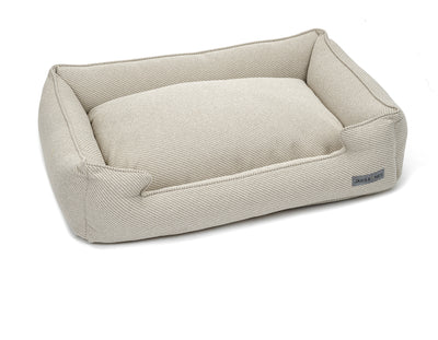 Bailey Bisque Textured Woven Lounge Bed